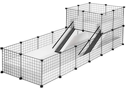 CagesCubes - Jaula CyC Deluxe Plus (Base 2X6 + Loft 2x2 +...