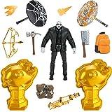 Fortnite Brutus (Shadow) Solo Mode Figura de núcleo y 2 míticos peces de colores coleccionables – Figura de acción coleccionable de 4 pulgadas, más accesorios