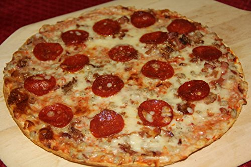 "6-12"" Andoro & Sons St. Louis Style Mega Meat Frozen Pizza"