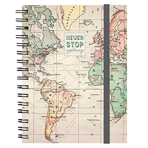 Legami Maxi Trio Spiral Notebook - Travel