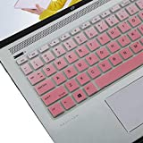 KeyCover - Ultra Thin Keyboard Cover Compatible with HP ProBook 430 G5, ProBook 440 G5 G6, ProBook 445 G6, ProBook 640 G4, ProBook x360 440 G1 Laptop - Gradual Pink