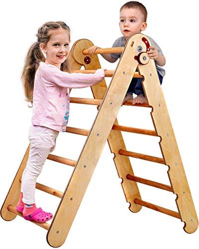 Kids Climber - Triangle Ladder - Toddler Gym Indoor Playground -...
