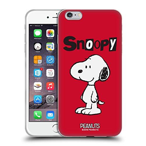 Head Case Designs Licenciado Oficialmente Peanuts Snoopy Personajes Carcasa de Gel de Silicona Compatible con Apple iPhone 6 Plus/iPhone 6s Plus