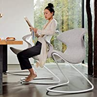 Aeris Oyo 04 Oyo ergonomic chair for home and office with modern design that swings and rocks - Blue