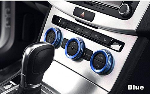 FFZ Parts Klima Heizungsregler Schalter Alu Ringe Passend Für Golf 7