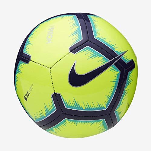 Nike Official Pitch Premier League Size 5 Ball Green 2018-2019 Strike Football