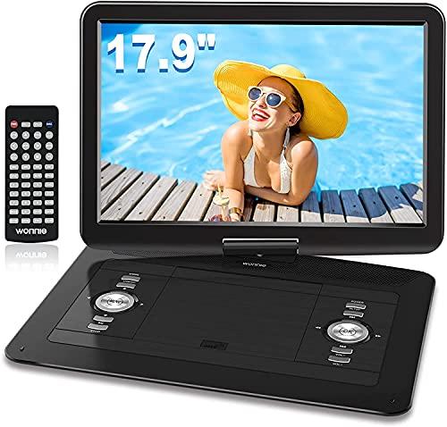 WONNIE 17.9'' Large Portable DVD/CD Player...