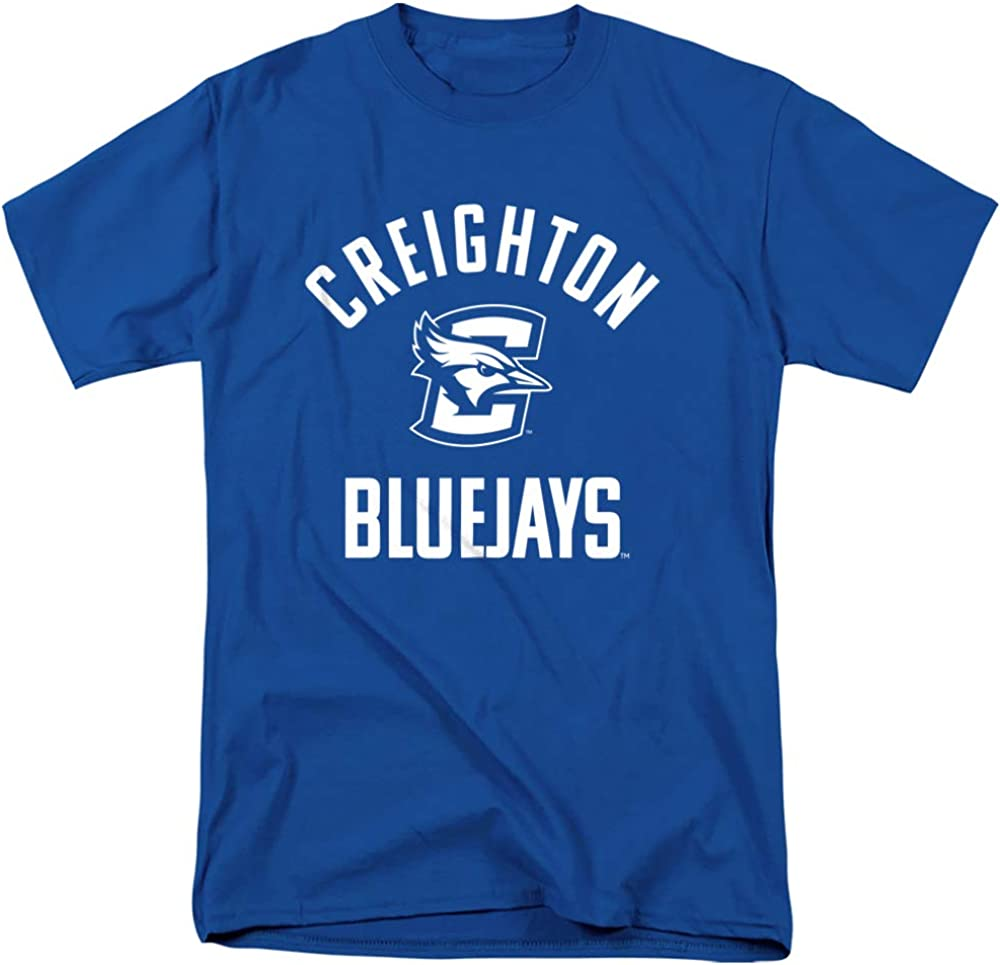 Creighton University Official 4 years warranty One Color Unisex Bluejays Logo Adu Max 84% OFF