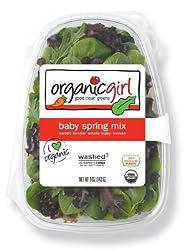 organicgirl Baby Spring Mix, 5 oz Clamshell