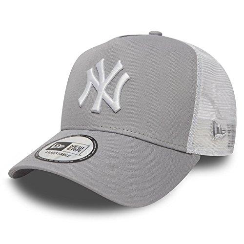 New Era Trucker Mesh Cap im Bundle mit UD Bandana NY Yankees Grey - 2835