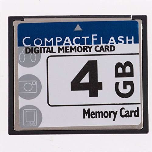 FengShengDa 4GB Compact Flash Memory Card Speed Up To 50MB/s, Frustration-Free Packaging- SDCFHS-4G-AFFP (4G)