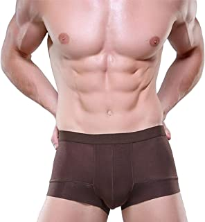 QIYUN.Z Mens Fashion Hollow Breathable Boxer Briefs