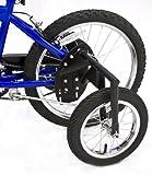 BIKE USA Inc. Junior Stabilizer Wheel Kit for Youth 20-Inch Wheel BMX Bikes, Heavy-Duty BMX Training Wheels. …