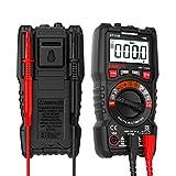 Multimètre Automatique Numérique,TRMS 4000 Points Testeur Electrique/Courant AC DC/Voltmètre/Résistance/Continuité/Diodes/NCV/Pile,Testeur de Circuit, avec Double Fusible pour Anti-brûlure, KAIWEETS