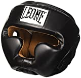 LEONE 1947 Casco, Modelo Junior Negro Talla:Small