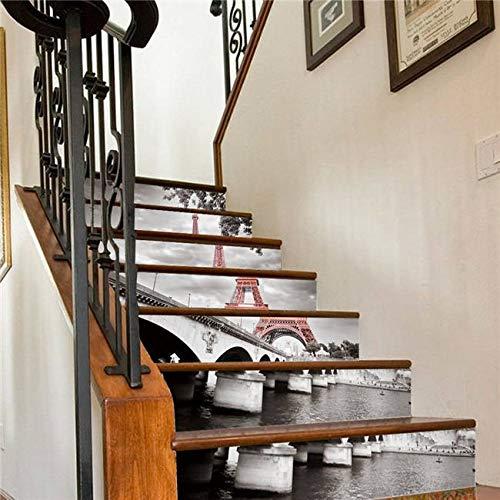 Etiquetas engomadas de las escaleras Pastel delicioso Buen apetito Etiquetas engomadas de la escalera Decoración de la escalera Papel pintado impermeable de DIY Decoración del hogar for cumpleaños de
