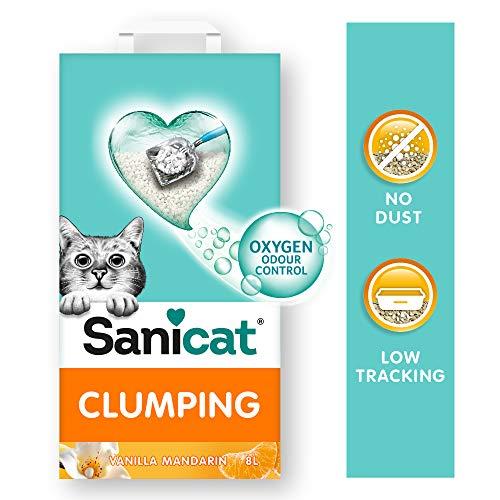 Sanicat Clumping + Vanilla Mandarina 8 L