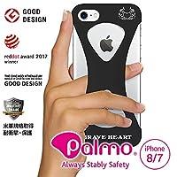 【Palmo】K1佐藤嘉洋モデル iPhone SE 2020(第2世代) iPhone8 ケース / 7 ケース Black (パルモ 黒) シリコン