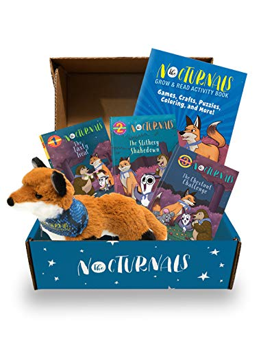 Compare Textbook Prices for The Nocturnals Grow & Read Activity Box: Early Readers, Plush Toy, and Activity Book - Level 1–3 The Nocturnals Activity Box Series 2 Illustrated Edition ISBN 9781944020569 by Hecht, Tracey,Yee, Josie