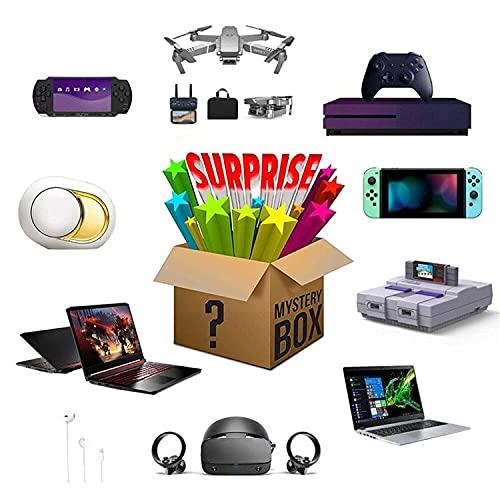 LTAYZ Scatola cieca Mystery Box Electronic, Scatole Lucky Box Mystery Blind Box, Super Costo Effettivo, Stile casuale, Battito cardiaco, Eccellente rapporto qualità-prezzo, primo arrivato per il primo