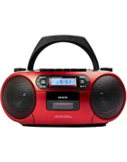 Radio Cassette Portátil AIWA BBTC-550, Bluetooth, CD, USB