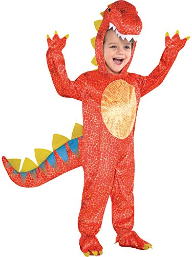 Dinosaur Halloween Kids Fancy Dress Boys Girls Animal Children Costume