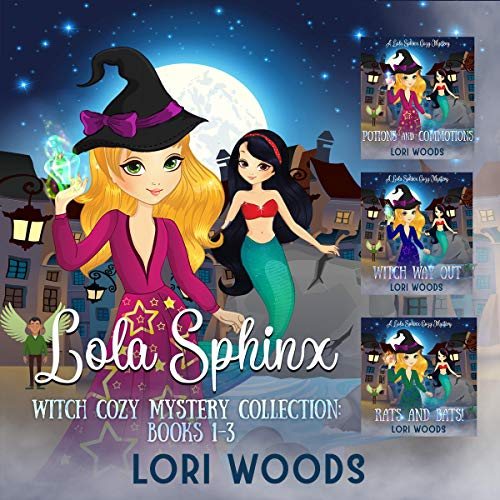 Lola Sphinx: A Witch Cozy Mystery Collection cover art