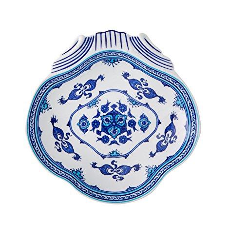Vista Alegre Izmir de porcelana Oriental carcasa, fabricado en Portugal