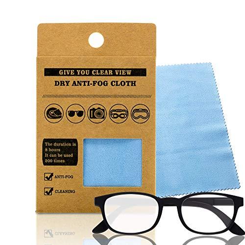 Toallitas antivaho gafas, gamuza antivaho gafas, gamuza reutilizable antivaho, paño microfibra de limpieza de lentes, antiempañante visera, antivaho mascarilla