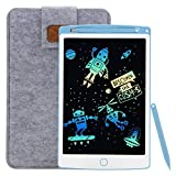 LCD Writing Tablet,10 Inch Colour Writing and Drawing Board, Electronic Drawing Board, Digital