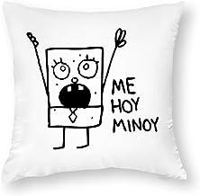 Decorative Pillow Covers Spongebob Doodlebob Throw Pillow Case Cushion Cover Home Decor,Square 16 X 16 Inches
