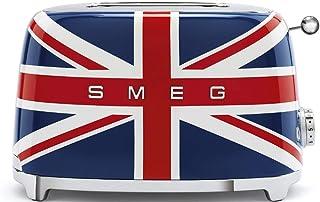 Smeg 1950's Retro Style Aesthetic 2 Slice Toaster, Union Jack Design (British Flag)