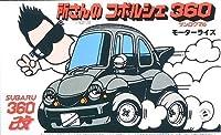 フジミ模型 トコチャン 所ジョージシリーズ トコロ トコロ コポルシェ360