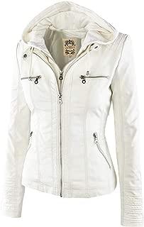 Women Leisure Faux Leather Jacket Coats Waterproof Windproof Coats