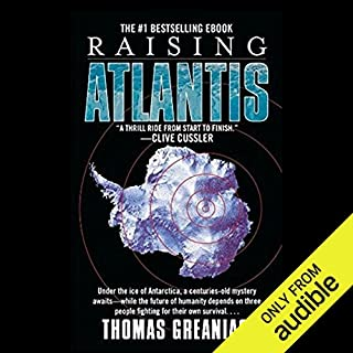 Raising Atlantis audiobook cover art