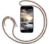 GoodcAcy Funda con Cuerda para Samsung Galaxy A90 5G Pantalla en Cristal Templado-Carcasa Transparente de TPU-con Cordon para Llevar en el Cuello