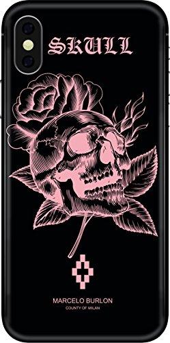 MARCELO BURLON Cover iPhone X - Skull
