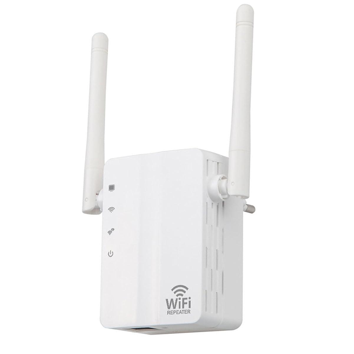 洞窟肘ディレイwifi中継器 無線LAN WiFi中継機 11n/g/b 300Mbps コンセント直挿し 無線信号増幅装備 超小型 省スペース 日本語説明書あり 一年保証