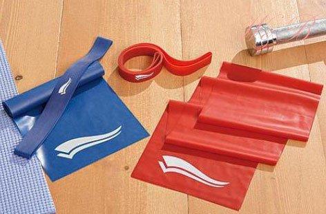 Fitnessbänder 4-teilig Fitnessbänder Fitnessringe Rubber Band Latex Band