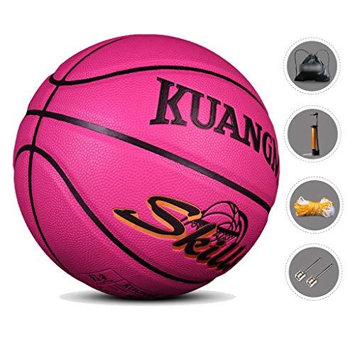 Best Review Of YE ZI Basketballs- Children's Basketball Indoor and Outdoor Number 5 Basketball 8.7 i...