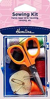 Hemline Hangsell Plastic Box Sewing Kit Plastic Box Sewing Kit