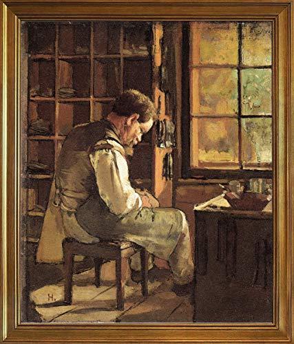 Berkin Arts Classico Marco Ferdinand Hodler Giclee Lienzo Impresión Pintura póster Reproducción...