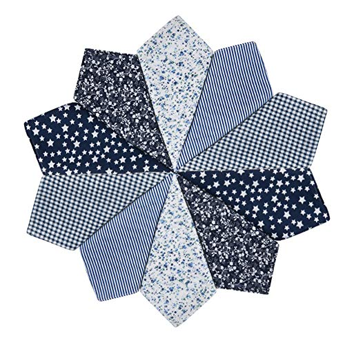 HOULIFE Pañuelos de papel para mujer de algodón puro, color negro, para uso diario, 5/10 unidades, 36 x 36 cm, regalo para el Día de la Madre