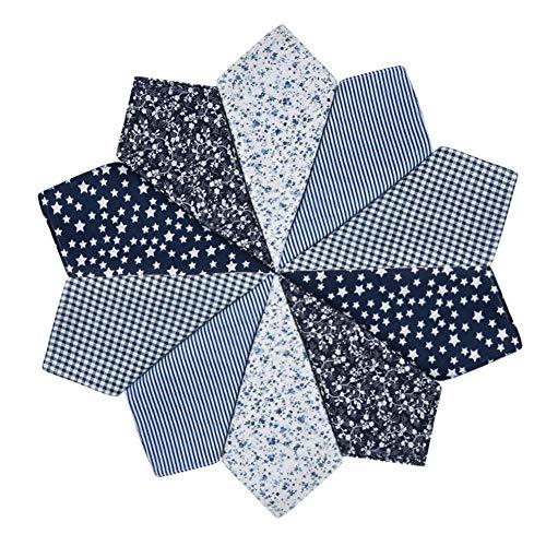 HOULIFE Damen Blumen Taschentücher aus Reiner Baumwolle Schwarz Stofftaschentücher für Alltagsgebrauch 5/10 Stücke 36x36cm Muttertagsgeschenk