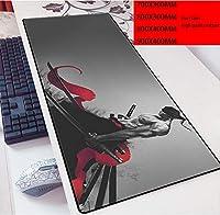 ワンピースマウスパッド15.8x35.5in Anime Mouse Mat Gaming Mouse Pad(40x90cm)-Photo_Color_700x300mm