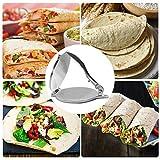 gilivableskr 8 Zoll Tortilla Maker, Tortilla-Presse, Faltbarer...