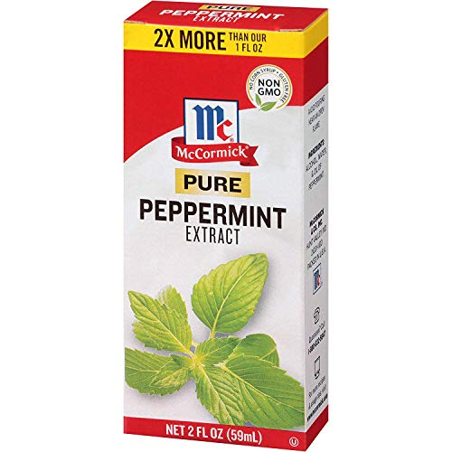 McCormick Pure Extract, 2 fl oz (Peppermint, Pack of 3)