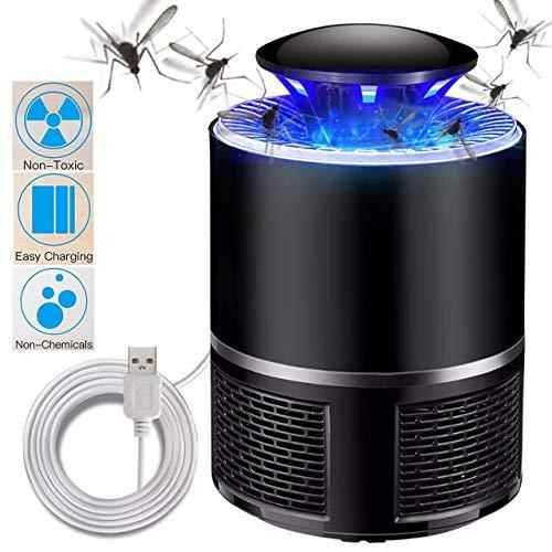 Magiin Moskito Mörder Lampe elektronische Moskito-Blockierlampe geführter LED Insekten-Mörder ohne Strahlungsmoskito-Falle, USB Smart für Haushaltsgebrauch Outdoor Hof