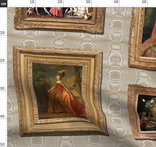 Moiré, Gemälde, Museum, Marie Antoinette, Kunst, Barock Stoffe - Individuell Bedruckt von...