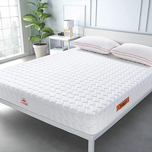 Maxzzz Matelas 140x190 cm 7 Zones Confort Ergonomique, Matelas 140x190, H3 Ferme, Soutien Efficace...